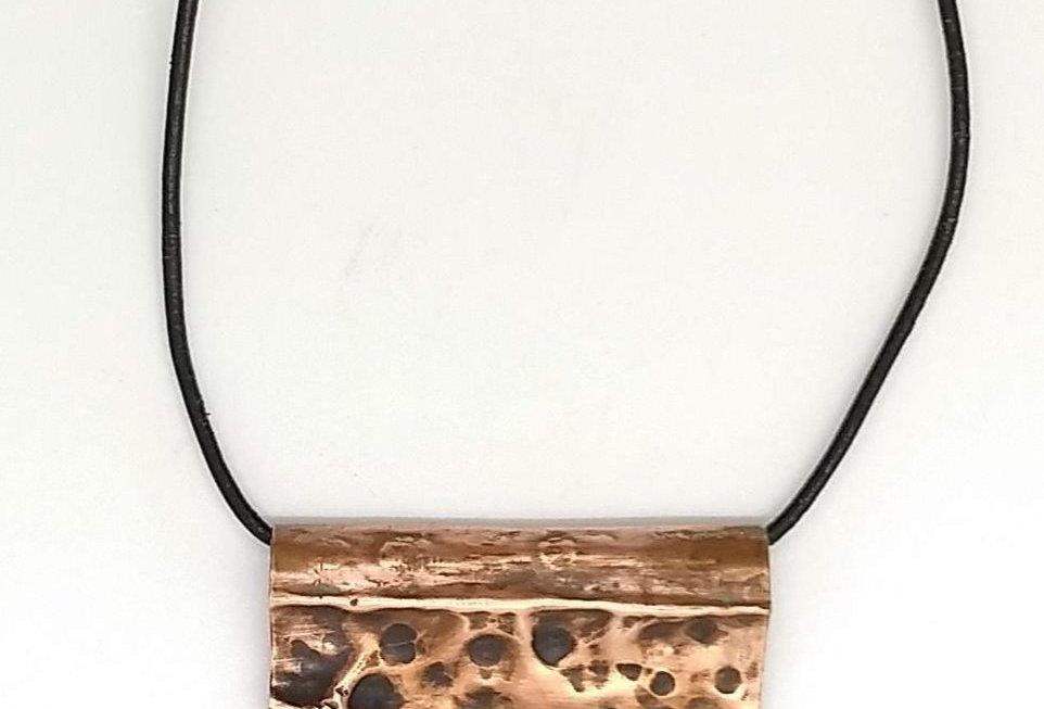Copper Fold Pendant