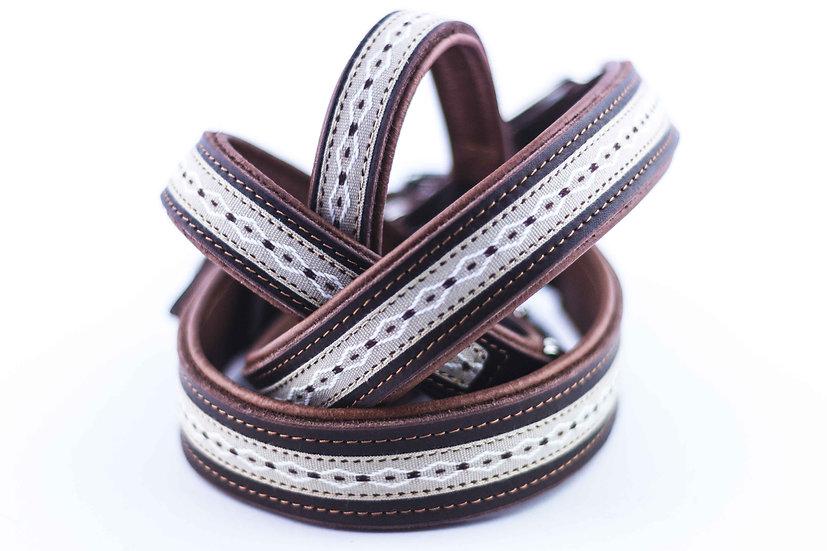 Halsband - Wave Beige