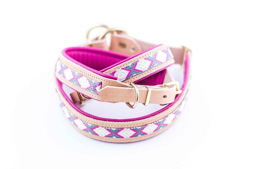 Halsband - Spring Pink