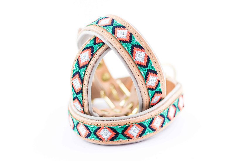 Halsband - Spring Green