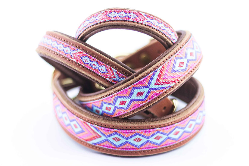 Halsband - Late Summer Pink