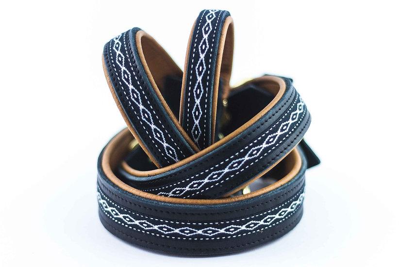 Halsband - Wave Black