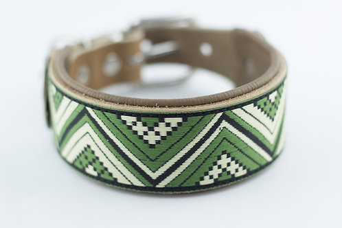 Halsband in green