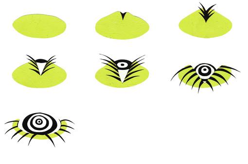 Hand Eye Sprite Sheet