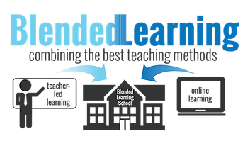 Blended learning using both instructor-led and online platforms