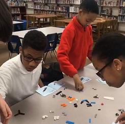 TCP Students STEM Lego activity