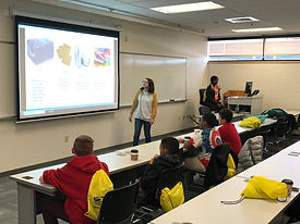 TCP Students visiting Anne Arundel Community College