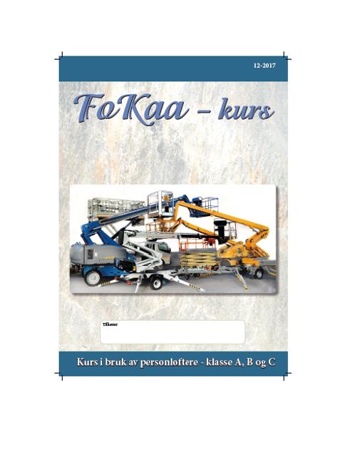 Engelsk versjon Fokaa Lærebok + arbeidsoppgave + eksamensoppgave + fasit