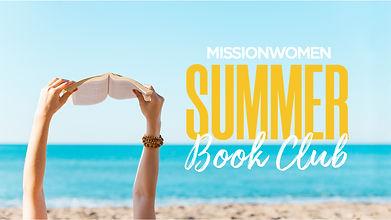 MissionWomen Summer Book Club - HD Title