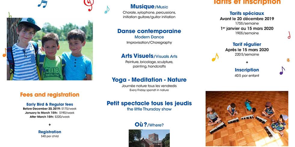 Registration fees Summer camp Anakkara/Académie de musique NDG (1)