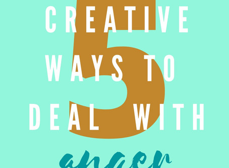 5 creative ways to manage your anger