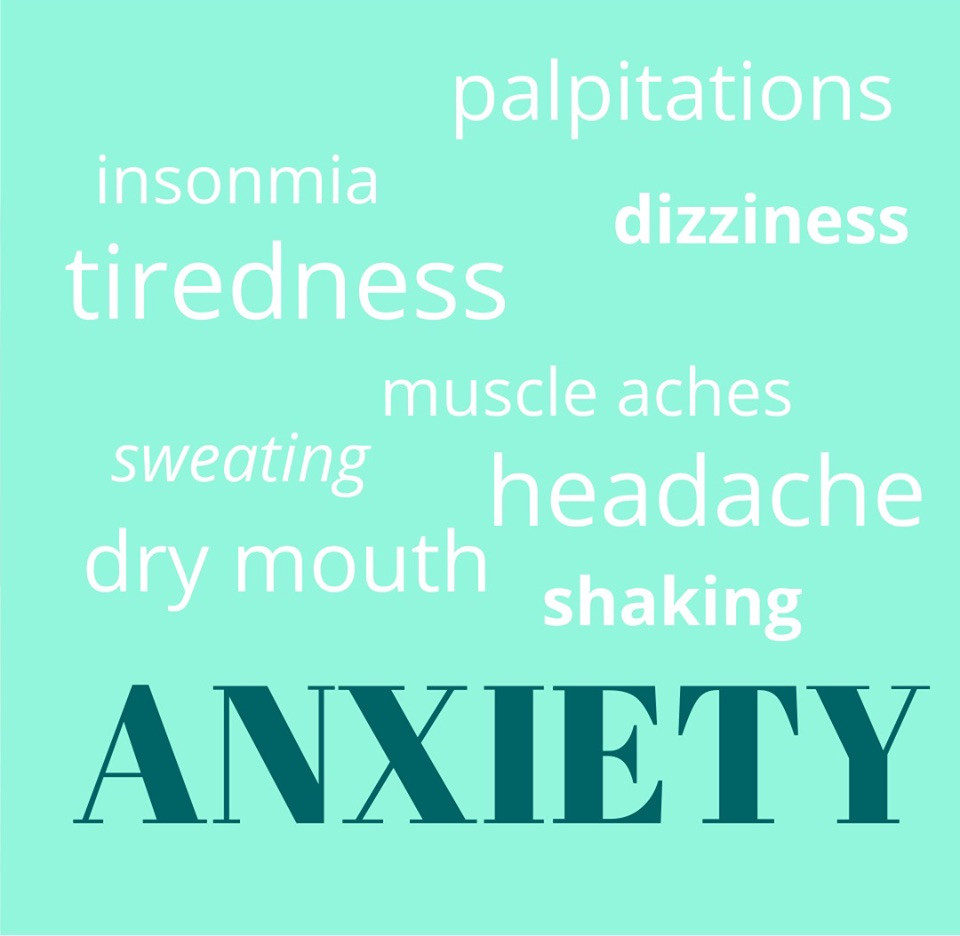 Anxiety symptons