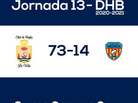 La Vila 73- 14 Valencia