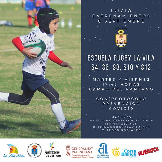 ESCUELA CLUB DE RUGBY LA VILA S4, S6, S8