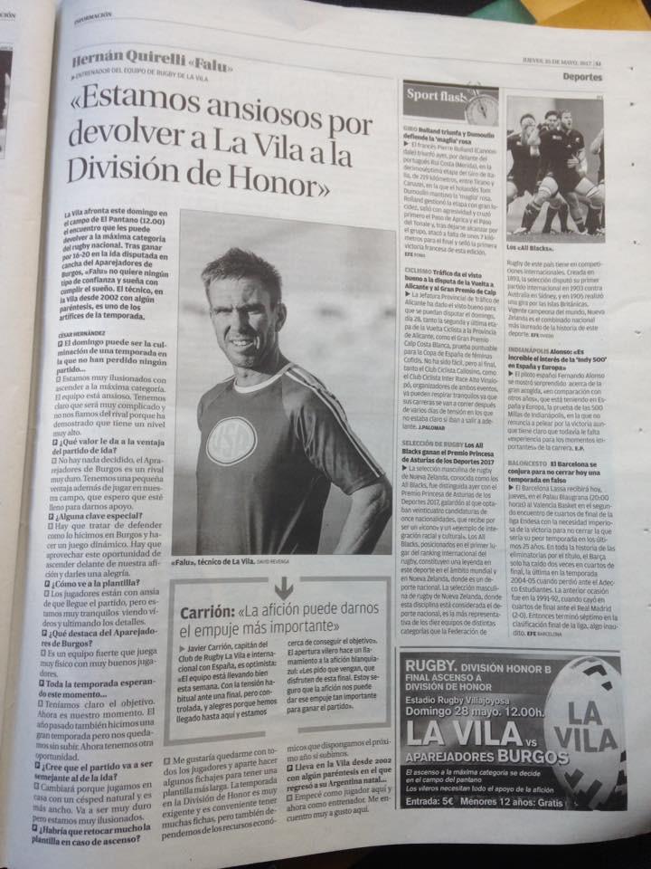 Diario informacion 3 noticias rugby fina