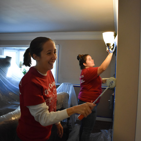 2019 Day of Caring: Cleaning up at CRi