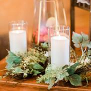 "Glass Candle Votives (8"")"