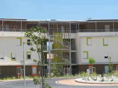 ZAC du Pradas - Montarnaud - 50 logements collectifs locatifs BBC