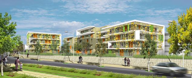 ZAC des constellations - Juvignac - 57 logements sociaux - Hérault