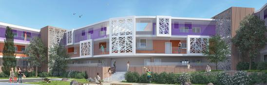 ZAC de la Draille - Gignac- 33 logements sociaux
