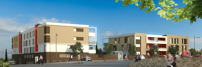 ZAC Nord - Saint-André-de-Sangonis - Hérault- 40 Logements locatifs