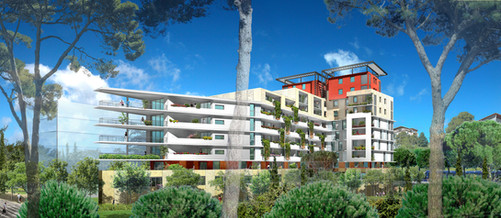 ZAC Port Marianne - Montpellier - 90 logements - Hérault