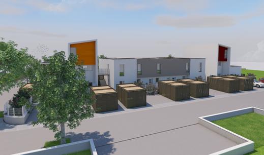 Construction ossature bois 3d hors site - Collectif
