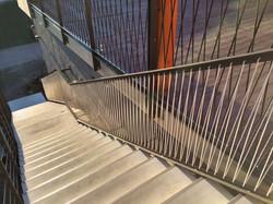 Bootshalle handgeknüpftes Geländer