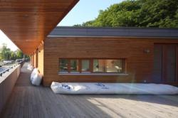 Bootshalle Dachterrasse