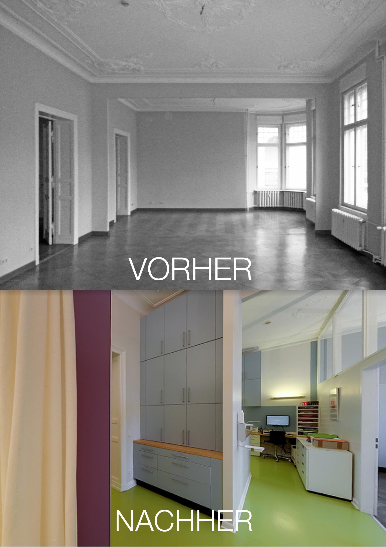 Orthopädische Praxis_Vorher_Nachher