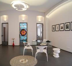 Aesthetic Clinic Kunst Sichtschutz