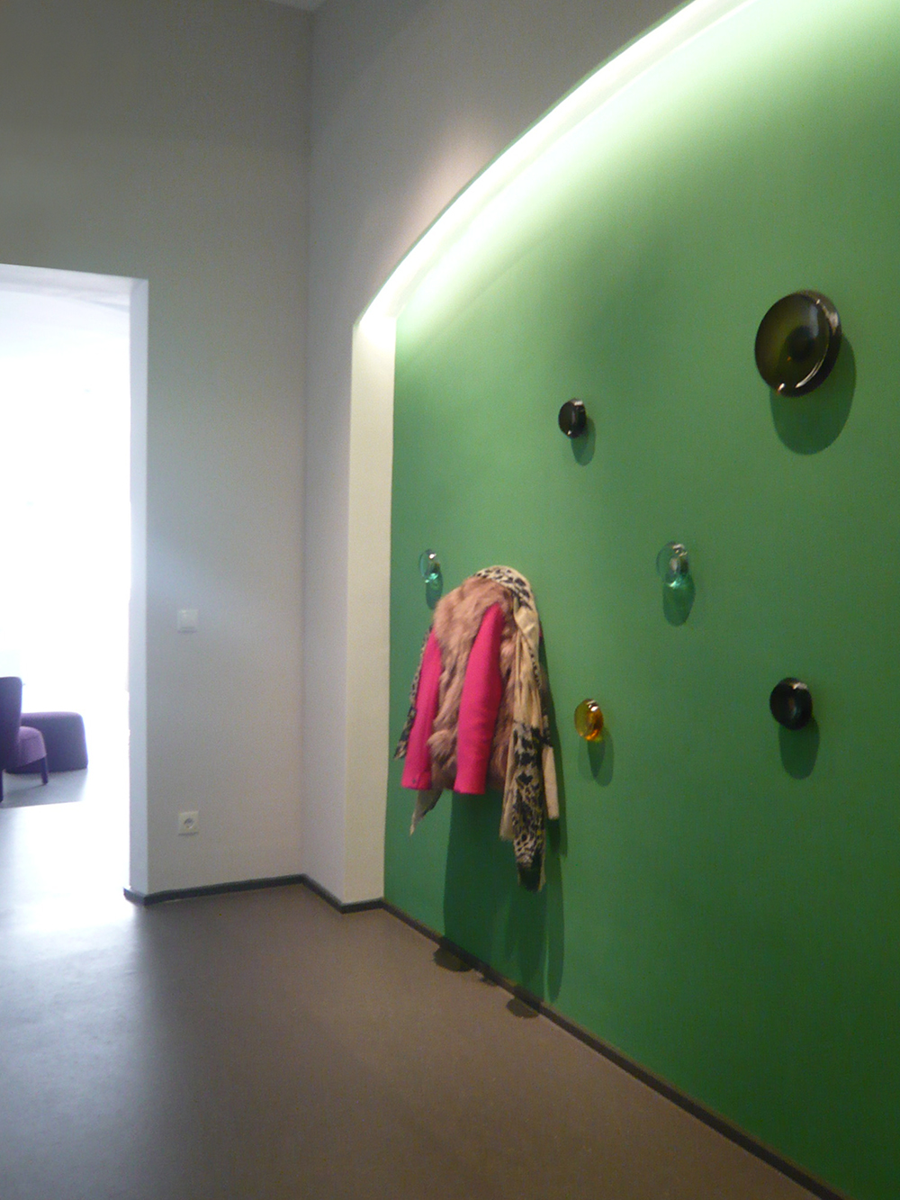 Aesthetic Clinic Designgarderobe