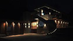 Clubhaus Aussenbeleuchtung