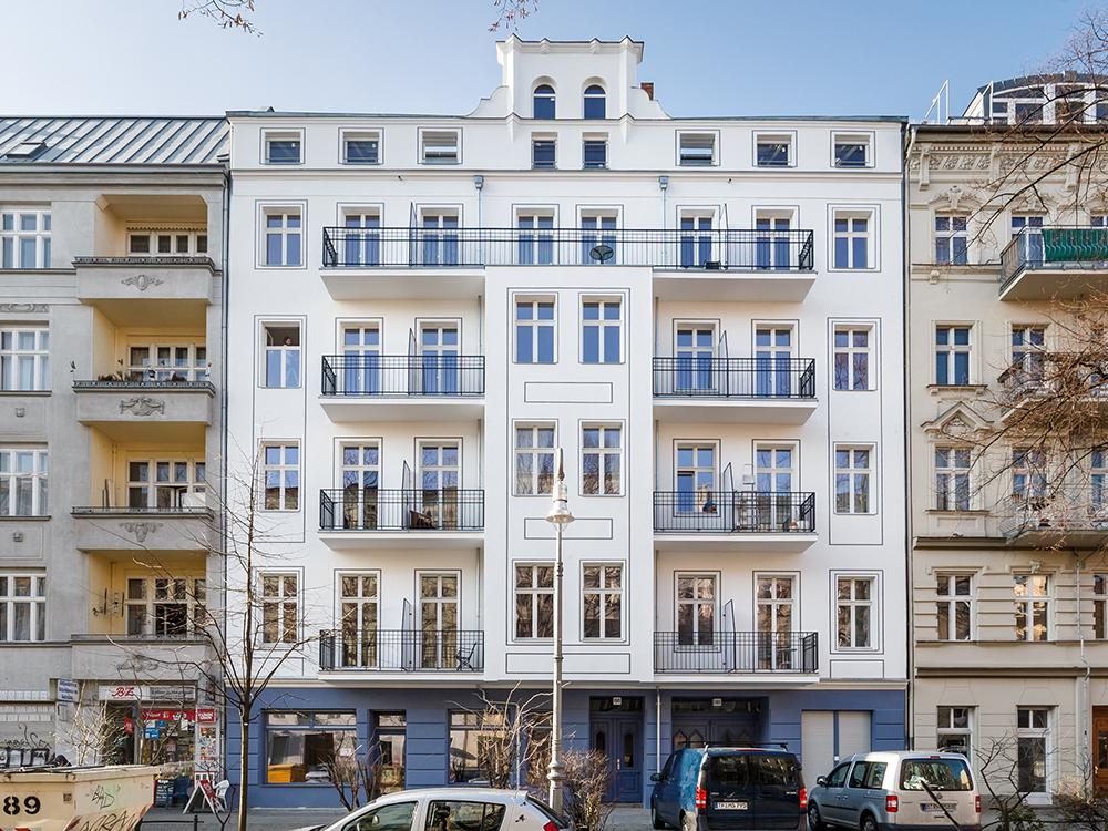 Reichenbergerstrasse Strassenfassade