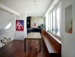 LoftW21 Galerie mit Sitzbank