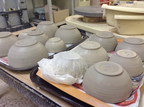 Trimmed Bowls, 2015