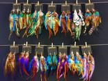 Feather Earrings, 2012
