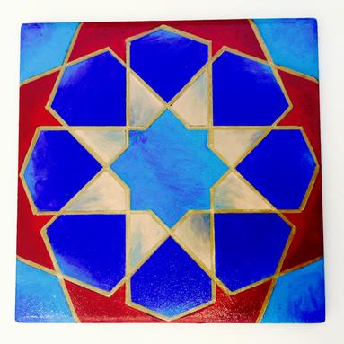Geometric Tile, 2016