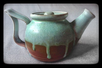 Seafoam Drip Series - Teapot, 2013