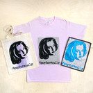 #gayforscully Tote, Tee & Patch, 2018