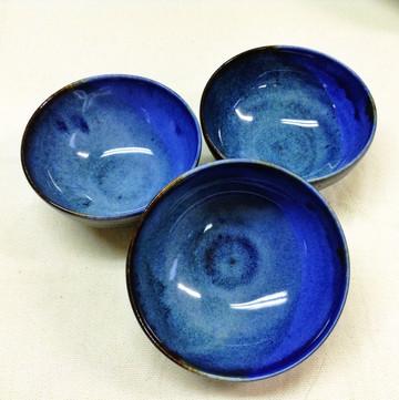 Blue Moon Series - Tiny Bowls, 2015