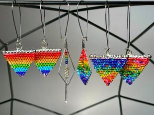Pride Earrings, 2021