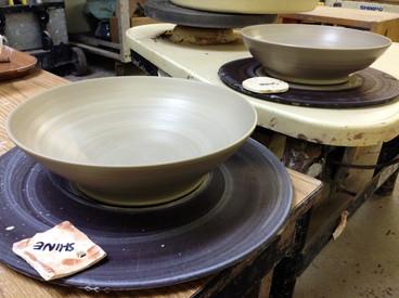 Wheelthrown Bowls, 2015