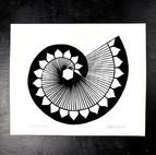 Single Spiral Silkscreen Print, 2020
