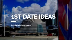 1st Date Ideas: Part 1
