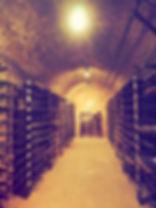 wine cellar, Cave Springs Winery, Jordan, Ontario
