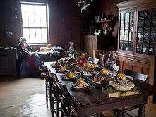 Canadian pioneer Christmas feast