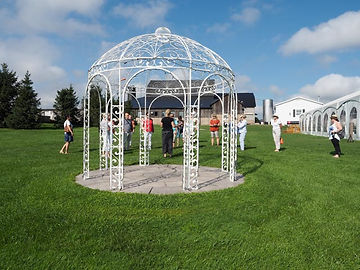 wedding pavillion, Sue-Ann Staff Estate Winery, Jordan, Ontario, Canada
