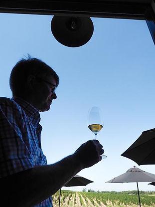 wine maker Arthur Harder, Wescott Winery, Jordan, Ontario, Canada