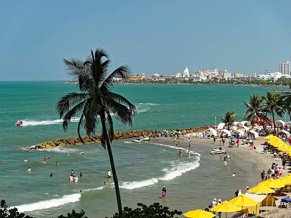 areial view of Bocagrande beaches, Cartagena, Colombia.jpg